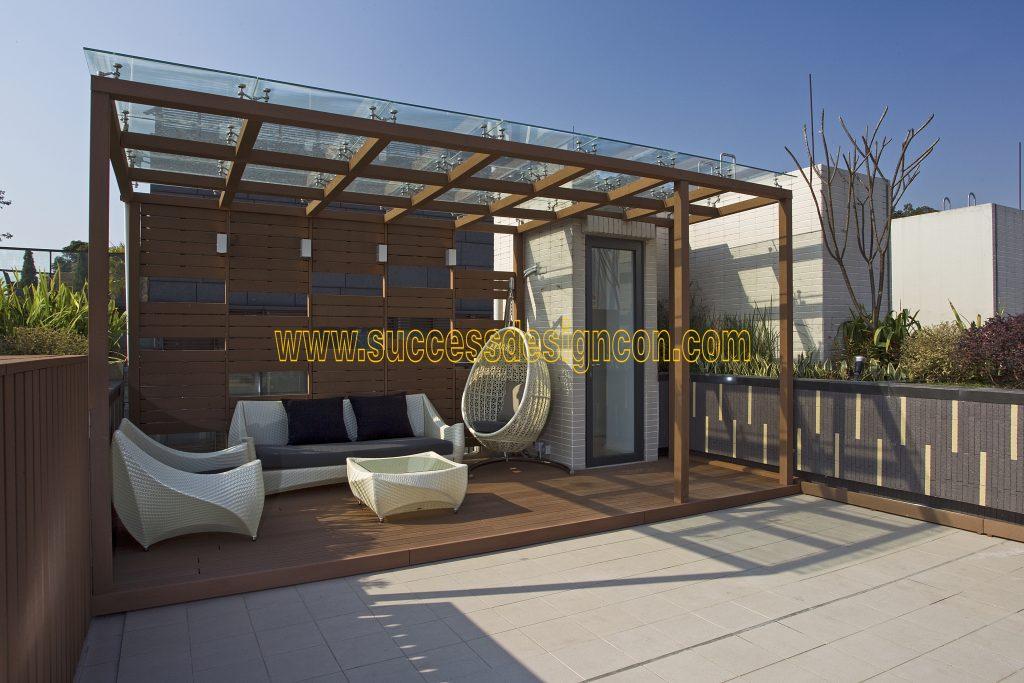 天台玻璃屋設計